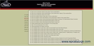 Mack Trucks Electrical Service Documentation Download