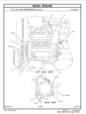 caterpillar C7 Industrial Engine Parts Manual PDF