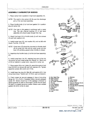 John Deere 2360 WindRower and 160 Platform TM1300 PDF