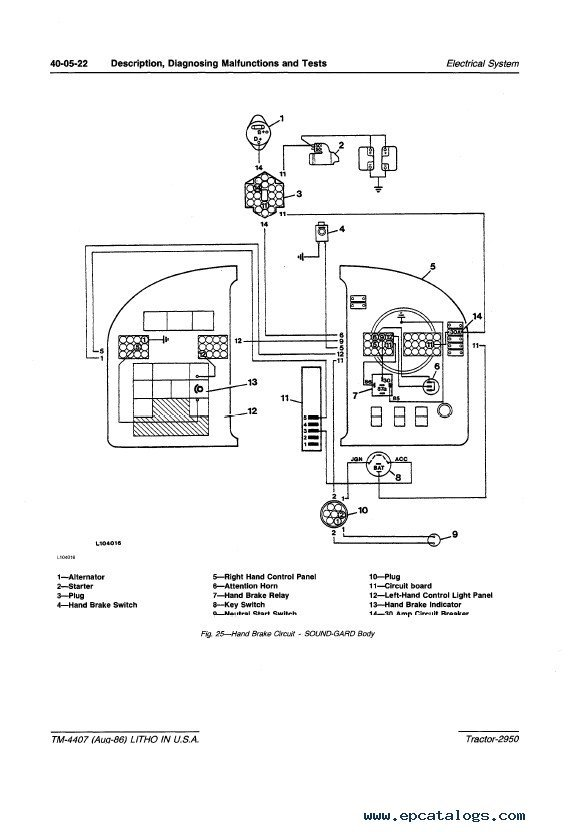Wiring Diagram For John Deere Sabre Powerking Co
