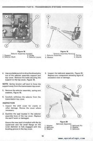 New Holland Ford 7610 Tractor Repair Manual PDF