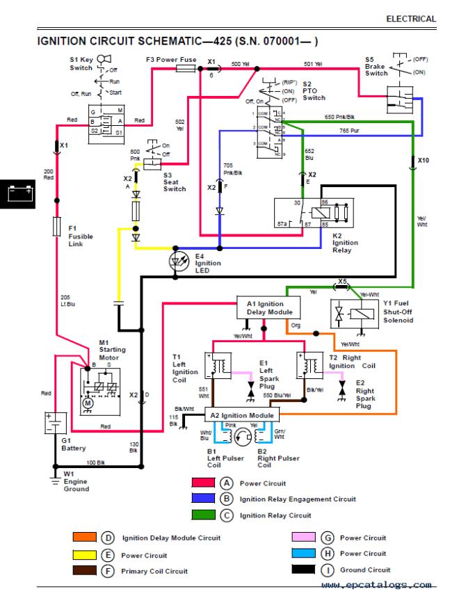 john deere 425 wiring diagram  2001 suburban stereo wire