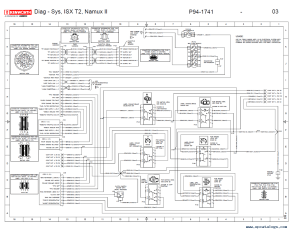 Kenworth T2000 Electrical Wiring Diagram Manual PDF
