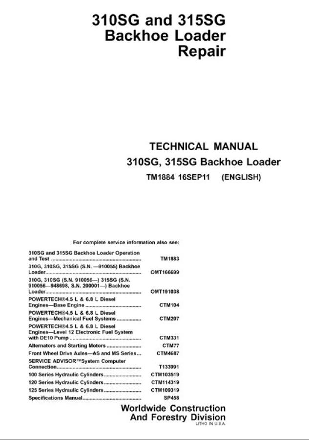 John Deere 310SG 315SG Backhoe Loader Repair Manual workshop service?resize=633%2C899&ssl=1 john deere 310e backhoe parts manual the best deer 2017 Gander Mountain Online Store at reclaimingppi.co