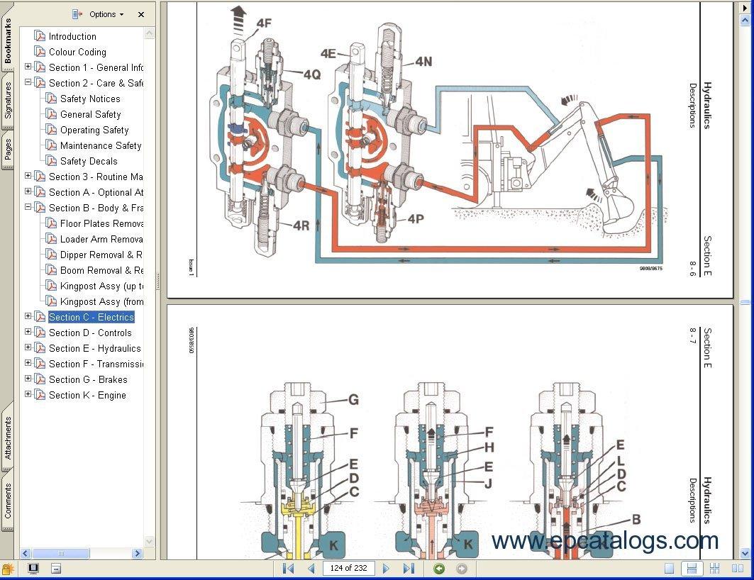 jcb 926 fork lift wiring schematic www thebritishedition