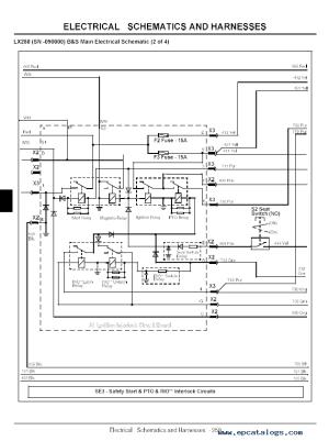 John Deere LX Lawn Tractor TM1754 Technical Manual PDF