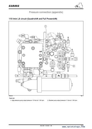 Claas Renault Ares 806 816 Service Repair Manual PDF