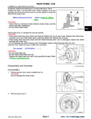 Nissan Versa Note Model E12 & Versa Model N17 2014 PDF