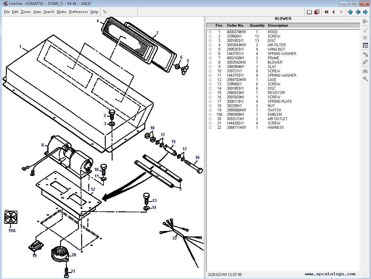 Komatsu Construction Europe Parts Catalog Download