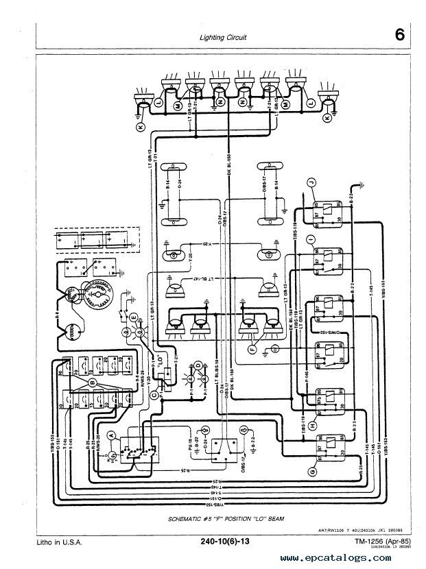 Schematics Deere John Engine