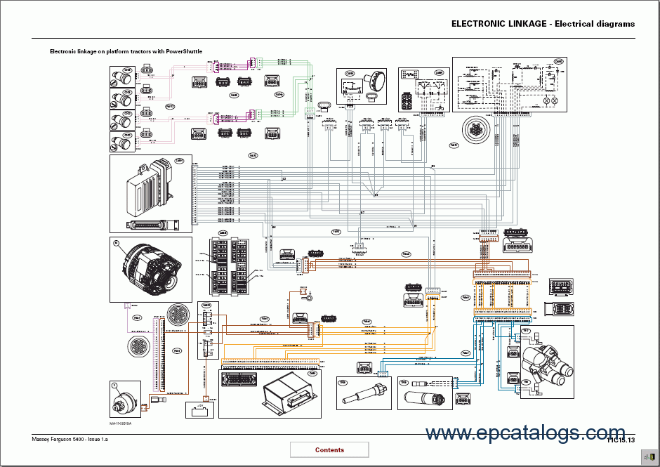 Massey Ferguson tractors 5400 series Workshop Manual?resize=665%2C470&ssl=1 mf 230 tractor wiring diagram mf tractor seats, kubota tractor ferguson to20 wiring diagram at bayanpartner.co