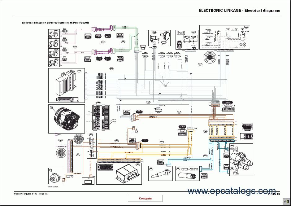 Massey Ferguson tractors 5400 series Workshop Manual?resize=665%2C470&ssl=1 mf 230 tractor wiring diagram mf tractor seats, kubota tractor ferguson to20 wiring diagram at alyssarenee.co