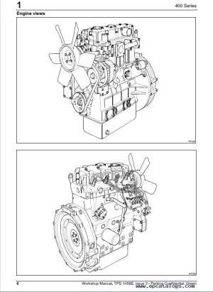Perkins 400 Series Diesel Engines Workshop Manual PDF