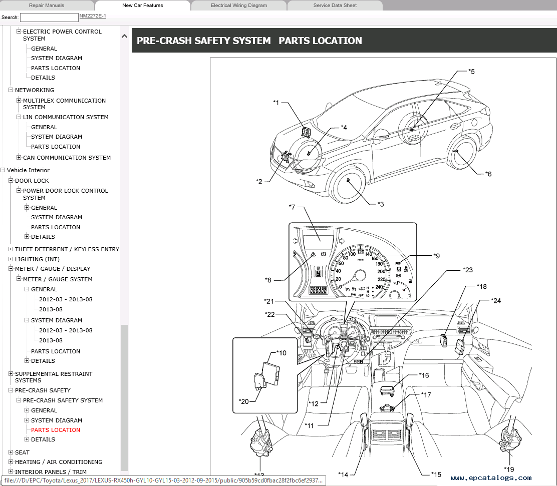 Lexus Rx450h Gyl10 Gyl15 Repair Manual 015 Download