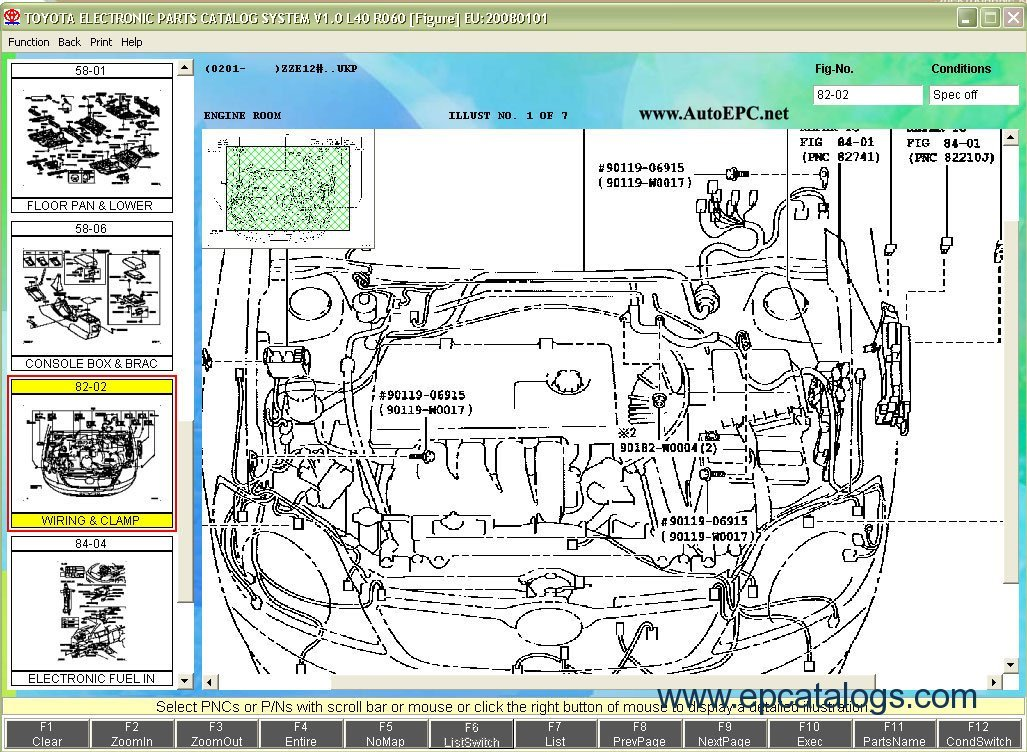 Toyota Parts Catalog Online Diagram