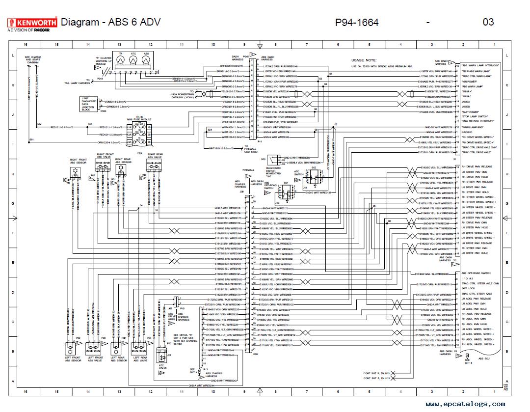 Diagrams#7681024: International 9800 Ac Wiring Diagram ...