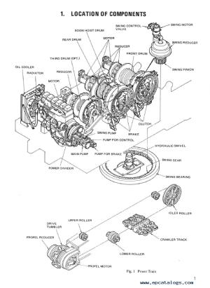 Kobelco Crawler Crane 7055 7065 Shop Manual PDF