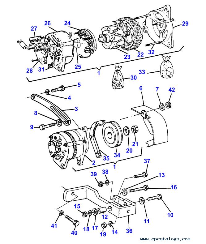 Massey Ferguson 41 Sickle Mower Parts Diagram