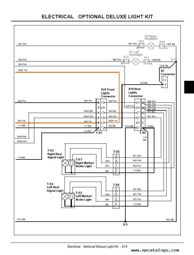 Diagrams 656877 xuv 850d wiring diagram john deere gator Power Wheels Wiring-Diagram John Deere Gator Service Manuals John Deere L118 Wiring-Diagram