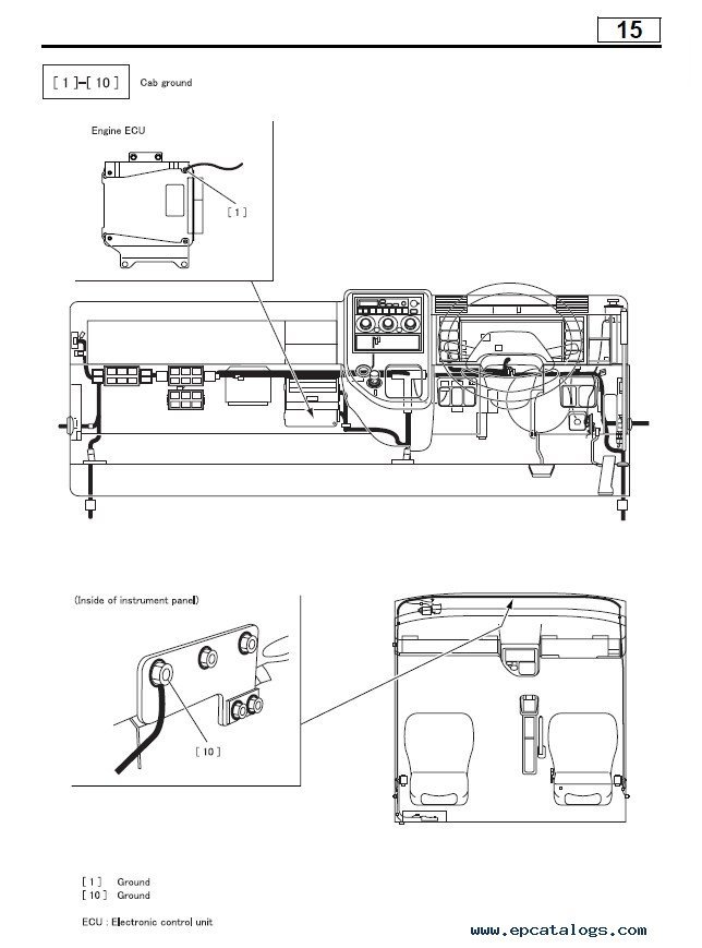 Mitsubishi Canter Electrical Wiring Diagram