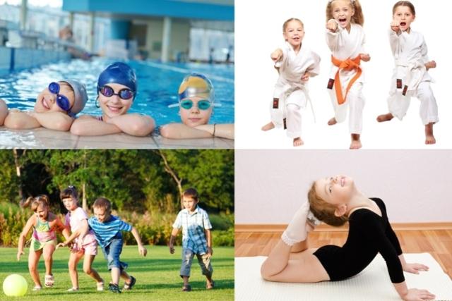Melhores exercícios para a criança crescer mais saudável