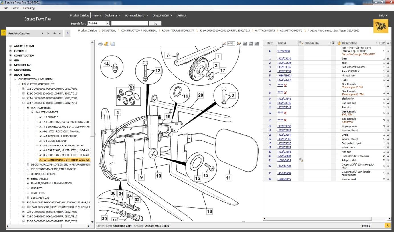 Jcb Service Parts Pro Epc