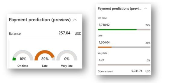 Microsoft dynamics 365 for finance and operations - Payment prediction