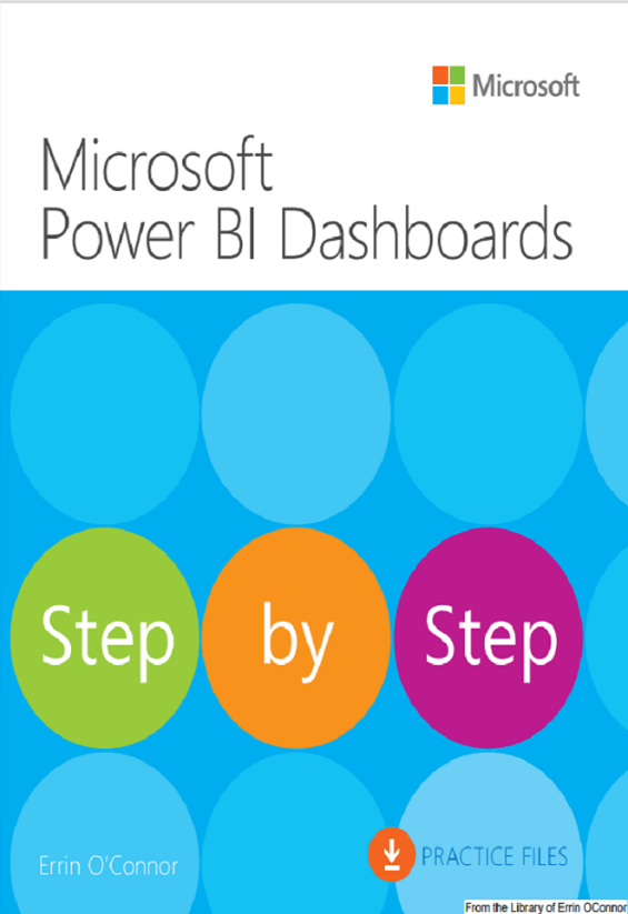 Power BI Dashboards – Step by Step – By Errin O'Connor. Chapter 1-2 and 3 - thumb image