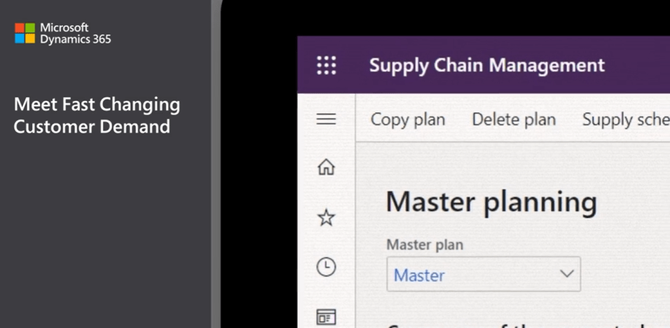 Microsoft Dynamics Supply Chain Mangement