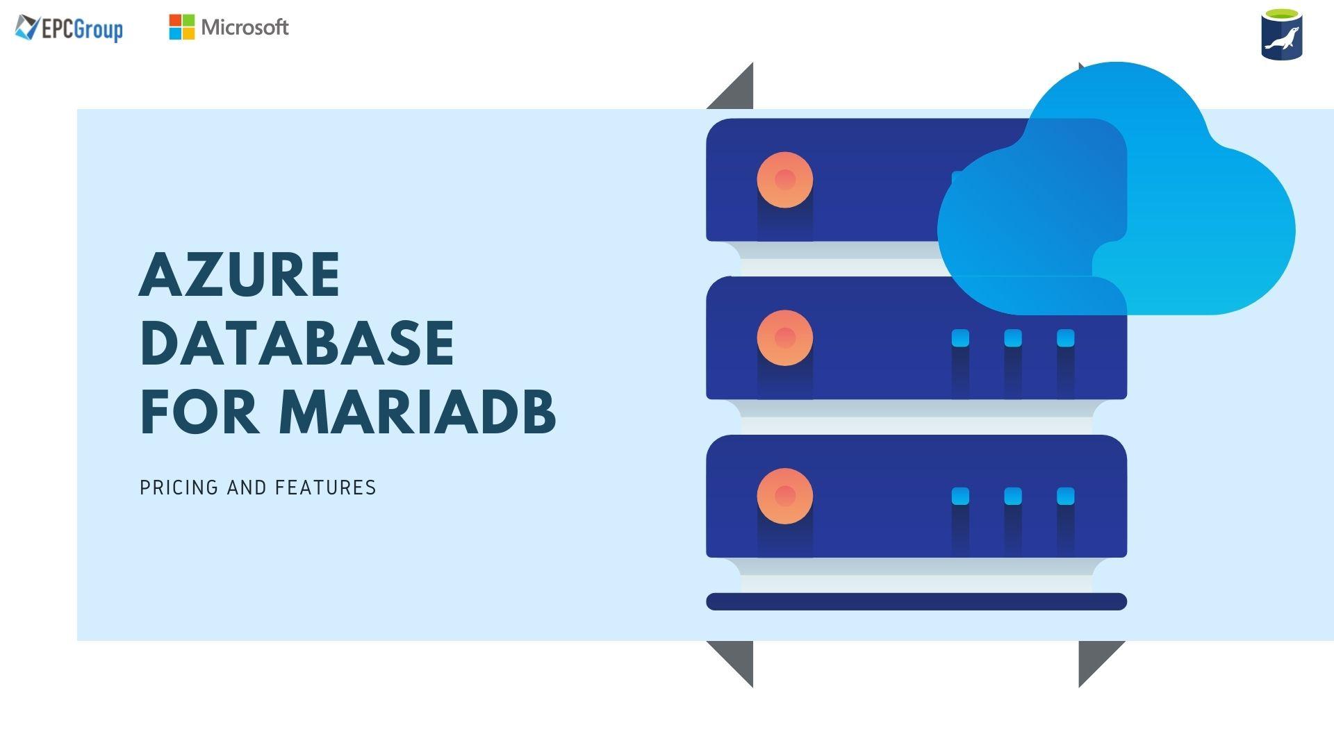 Azure Database For MariaDB: Relational Database Service - thumb image