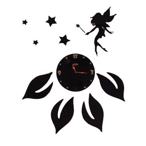 Star and angel theme wall clock online