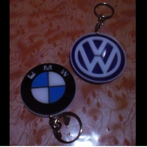 Automobile and brand Keychain