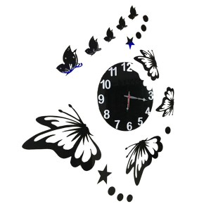 Big butterfly theme wall clock online