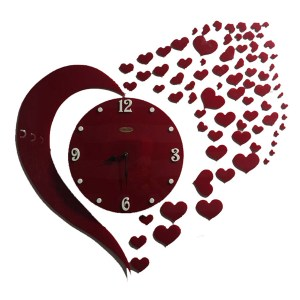 Love theme wall clock online