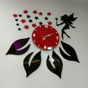 Angel and Star theme wall clock online