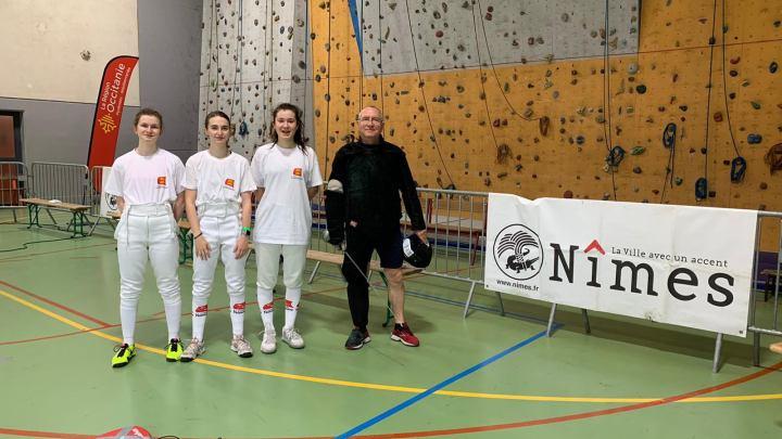 Ouest-France. Escrime. Championnats de France U17 : Emma Falconnet-Biziou tutoie les sommets