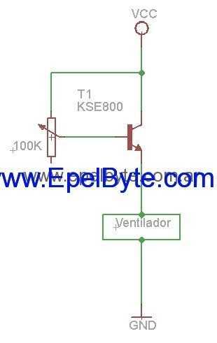 simple Control para ventilador