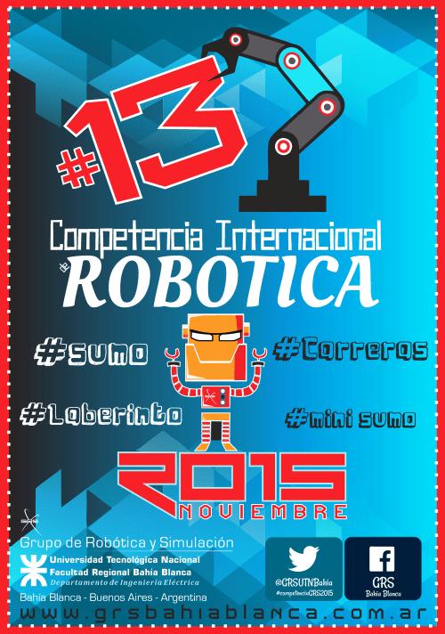 Competencia-Internacional-de-Robotica-#13
