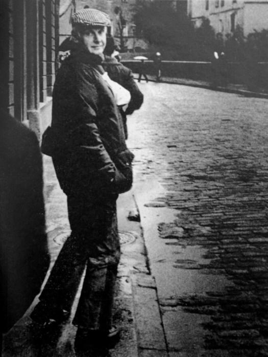 Kalju Suur. Henri Cartier-Bresson Tallinnas. Mai 1971. Reproduktsioon.