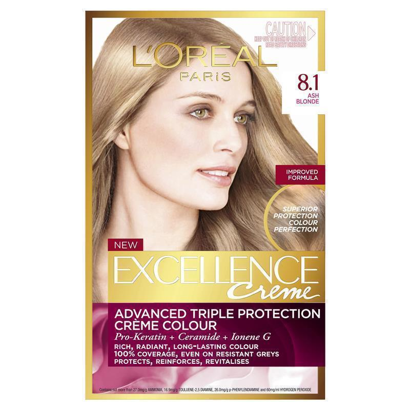 LOreal Excellence Creme 81 Ash Blonde EPharmacy