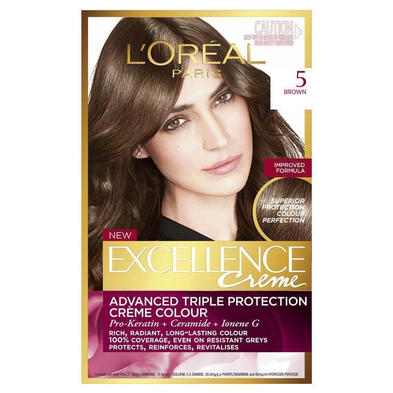 LOreal Excellence Creme 5 Brown EPharmacy