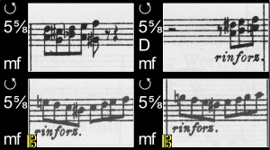 a moment in the score for WOW