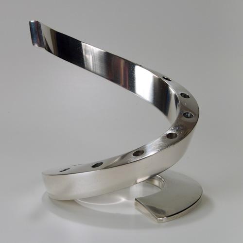 Dansk Spiral Silver Plated Candle Holder Ephemerascenti