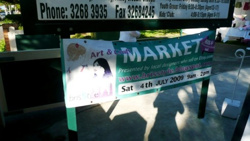 Welcome – To the BrisStyle Winter Market 2009…