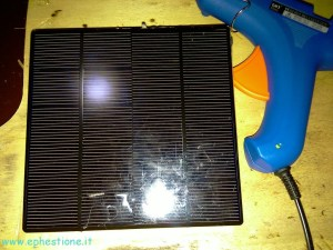 solar panel charger front look
