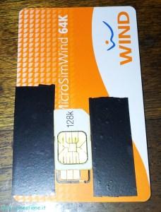 marking width on microsim holder