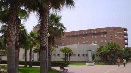 Fachada Hospital de Poniente