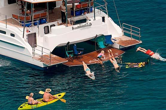 70 Ft Luxury Sailing And Motor Catamaran Epic Charters
