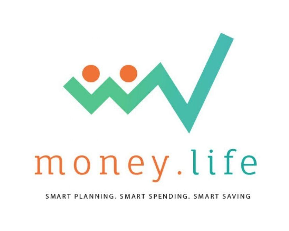 money.life logo brand