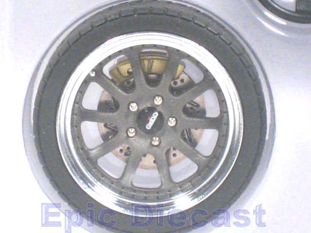 Tire Amp Wheel Set Kinesis 10 Spoke 1 18 Epic Diecast Cars From Chip Foose And Gmp